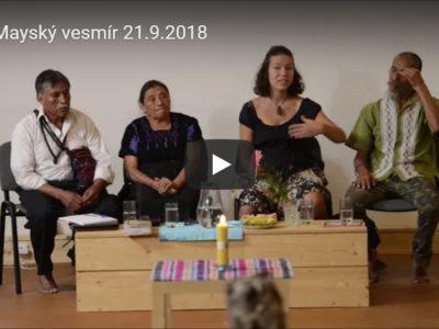 Mayové: přednáška Mayský vesmír 21.9.2018
