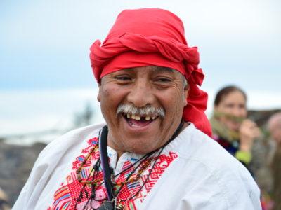 Setkání s mayskými stařešiny Tatou Juanem a Nanou Lucií