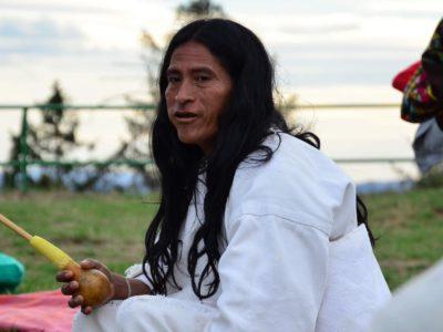 Setkání s Mamo Manuelem z kmene Kogi